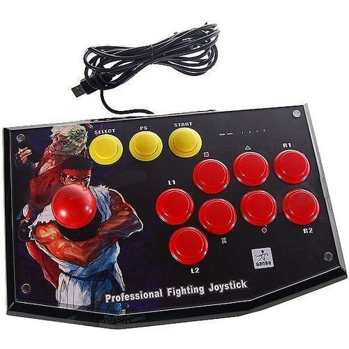 USB Arcade Joystick Controller for PC / PS3