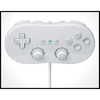 White Classic Controller for Nintendo Wii & Game Cube