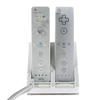 Dual USB Charging Stand + 2 2800mAh batteries For Wiimote