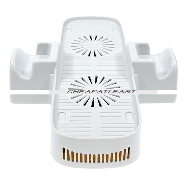 station stand up avec double ventilateur USB pour XBOX