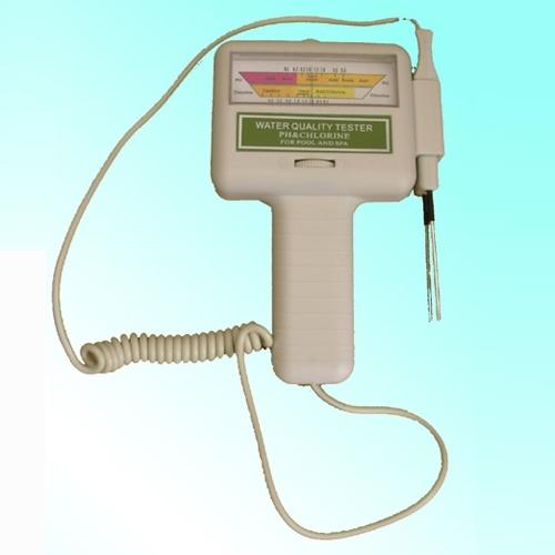 Analyseur testeur d 39 eau ph chlore pour piscine spa for Ph pour piscine