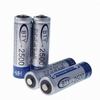 accus - AA rechargeables - 1.2V - 2500 mAh - lot de 4