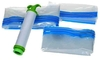 Compact Space Saver Vacuum Compressed Seal Storage Bags Set (3-Pack)