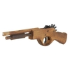 Wooden Hand Gun Rubber Band Shooting Toy Gun