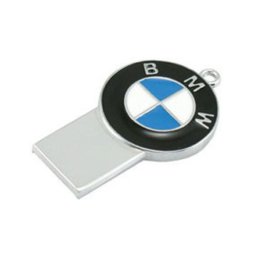 8g super small ultra slim bmw logo usb flash drive cheapatleast. Black Bedroom Furniture Sets. Home Design Ideas
