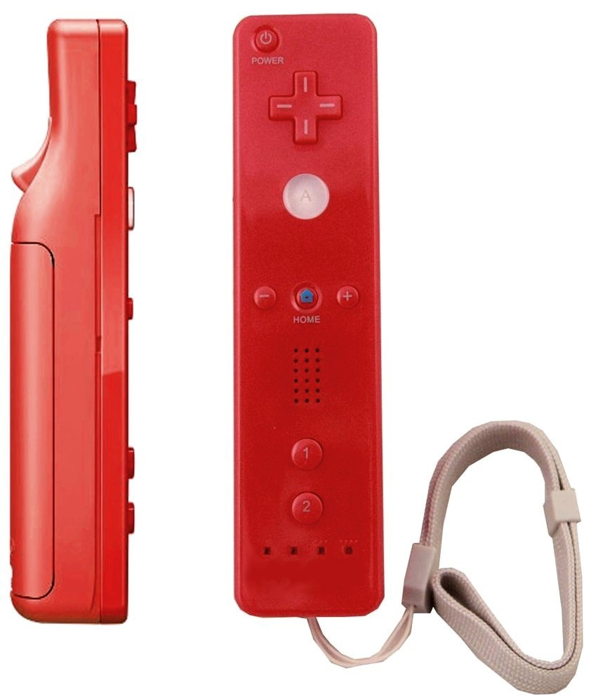 Cheapatleast.com - Red Wiimote And Nunchuk