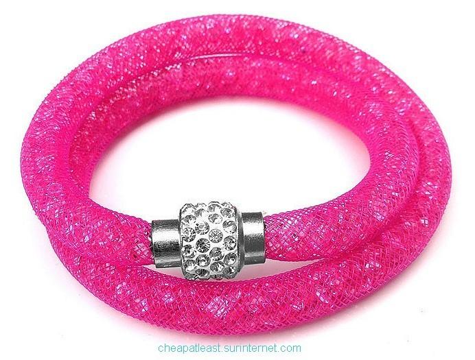 bracelet cristal stardust style swarovski double tour pas cher. Black Bedroom Furniture Sets. Home Design Ideas