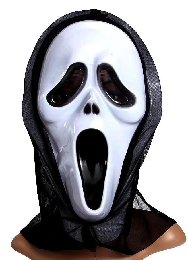 horror scream scary movie mask