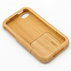 Coque De Protection En Bambou / étui Pour Apple Iphone 4
