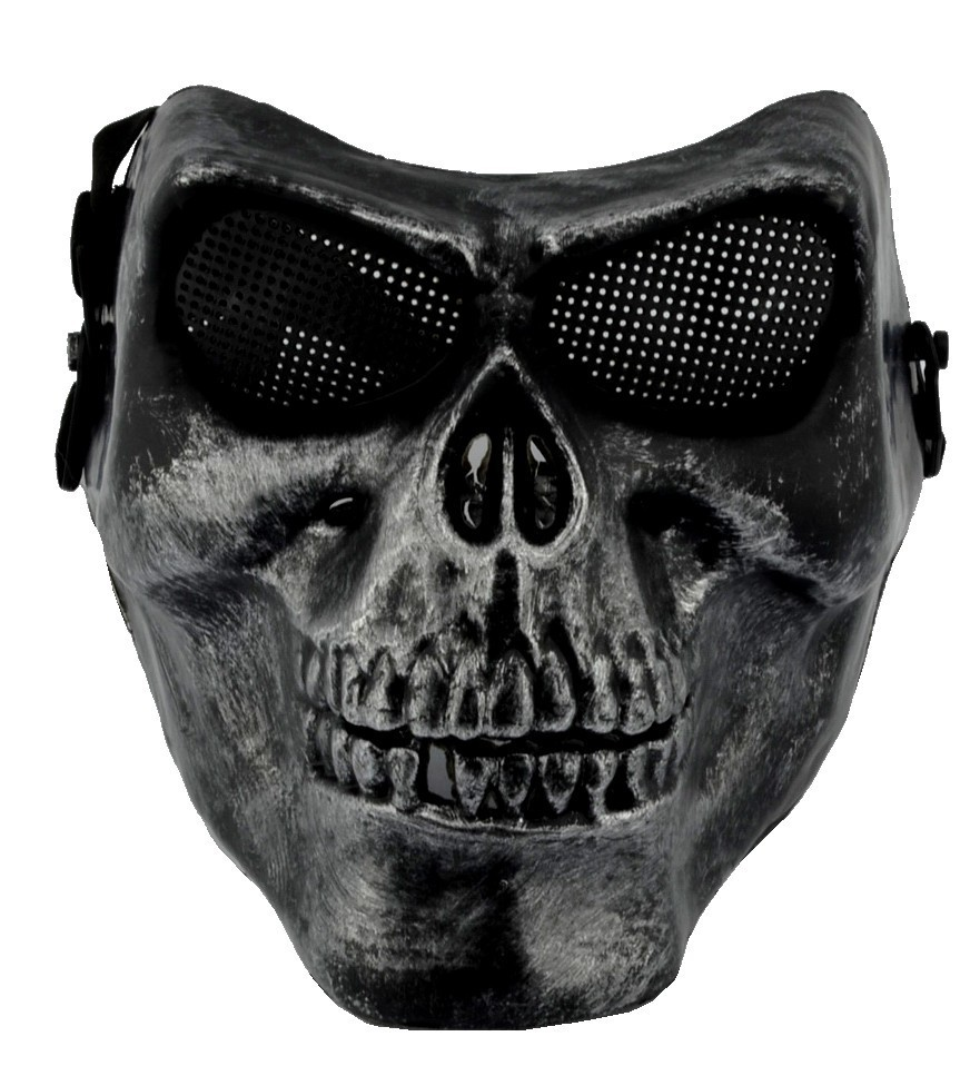 masque de protection rigide airsoft crane t te de mort skull. Black Bedroom Furniture Sets. Home Design Ideas