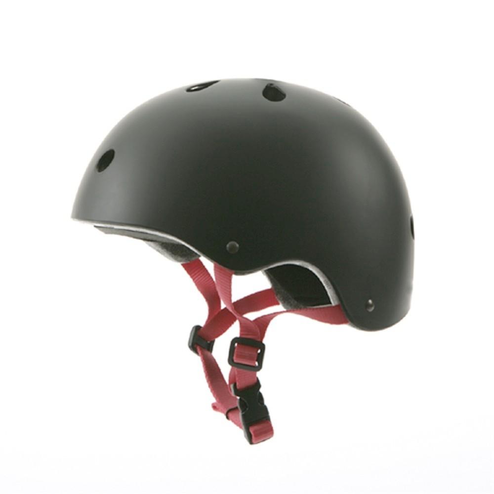 casque de protection abs noir skate roller street. Black Bedroom Furniture Sets. Home Design Ideas
