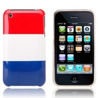 National Flag Plastic Protective Case for iPhone 3G/3GS - France