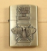 Gasoline Storm Lighter (Zippo style) - Copper Metal - Second World War pattern