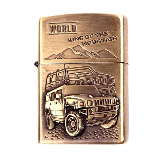 briquet temp te style zippo hummer the king of 4wd en relief. Black Bedroom Furniture Sets. Home Design Ideas