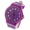 Montre Violette Style Swatch Adulte Ado