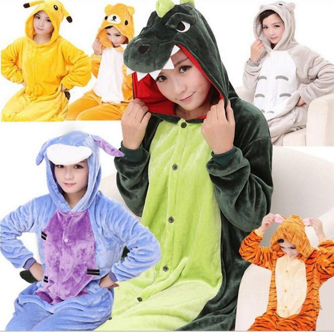 6dbf63069ae8d Pyjama grenouillère Kigurumi Animal en polaire ultra douce pilou