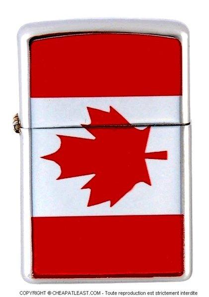briquet temp te style zippo drapeau du canada cheapatleast. Black Bedroom Furniture Sets. Home Design Ideas