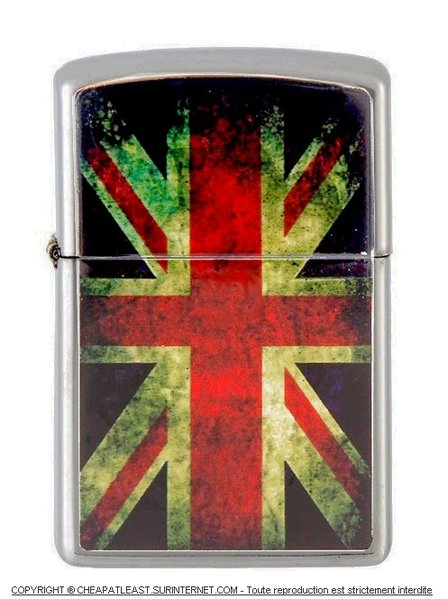 briquet temp te style zippo collection dirty flag drapeau anglais cheapatleast. Black Bedroom Furniture Sets. Home Design Ideas