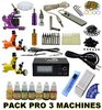 Full Pack Tattoo Kit SET PRO 3