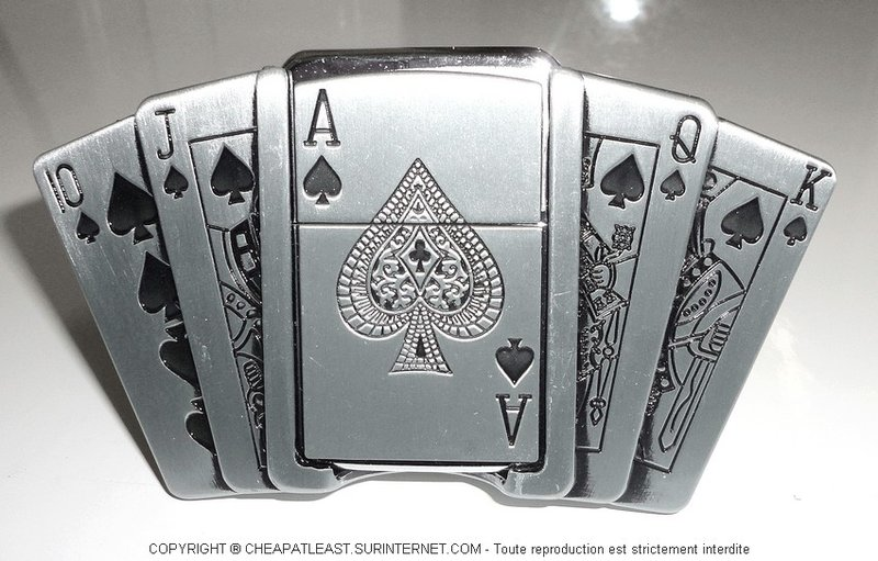 acheter Boucle de ceinture porte-briquet Poker addict be0468b935c