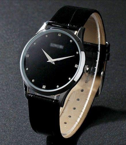 acheter montre homme classique ultra fine pas cher. Black Bedroom Furniture Sets. Home Design Ideas