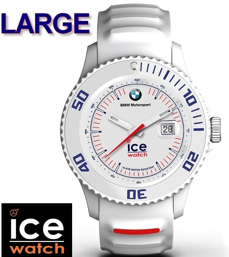grossiste b7624 666a7 Men Watch Ice-Watch BMW Motorsport - White - Large
