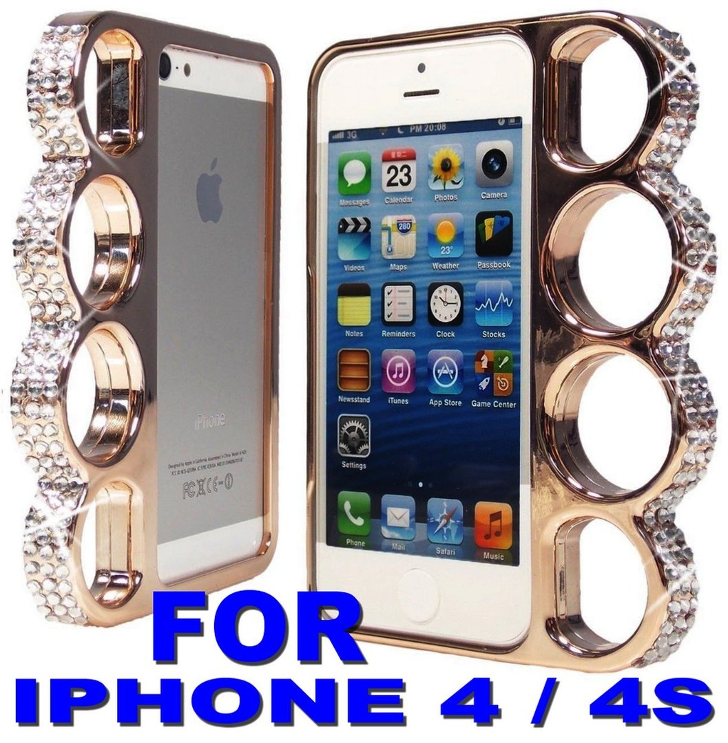 cheapatleast coque iphone 4 4s poing am ricain champagne strass. Black Bedroom Furniture Sets. Home Design Ideas