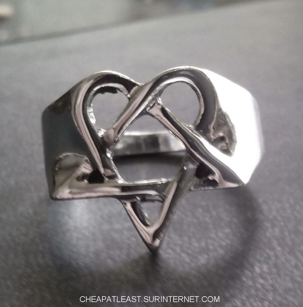 Cheapatleast signet ring heartagram him signet ring heartagram him aloadofball Choice Image