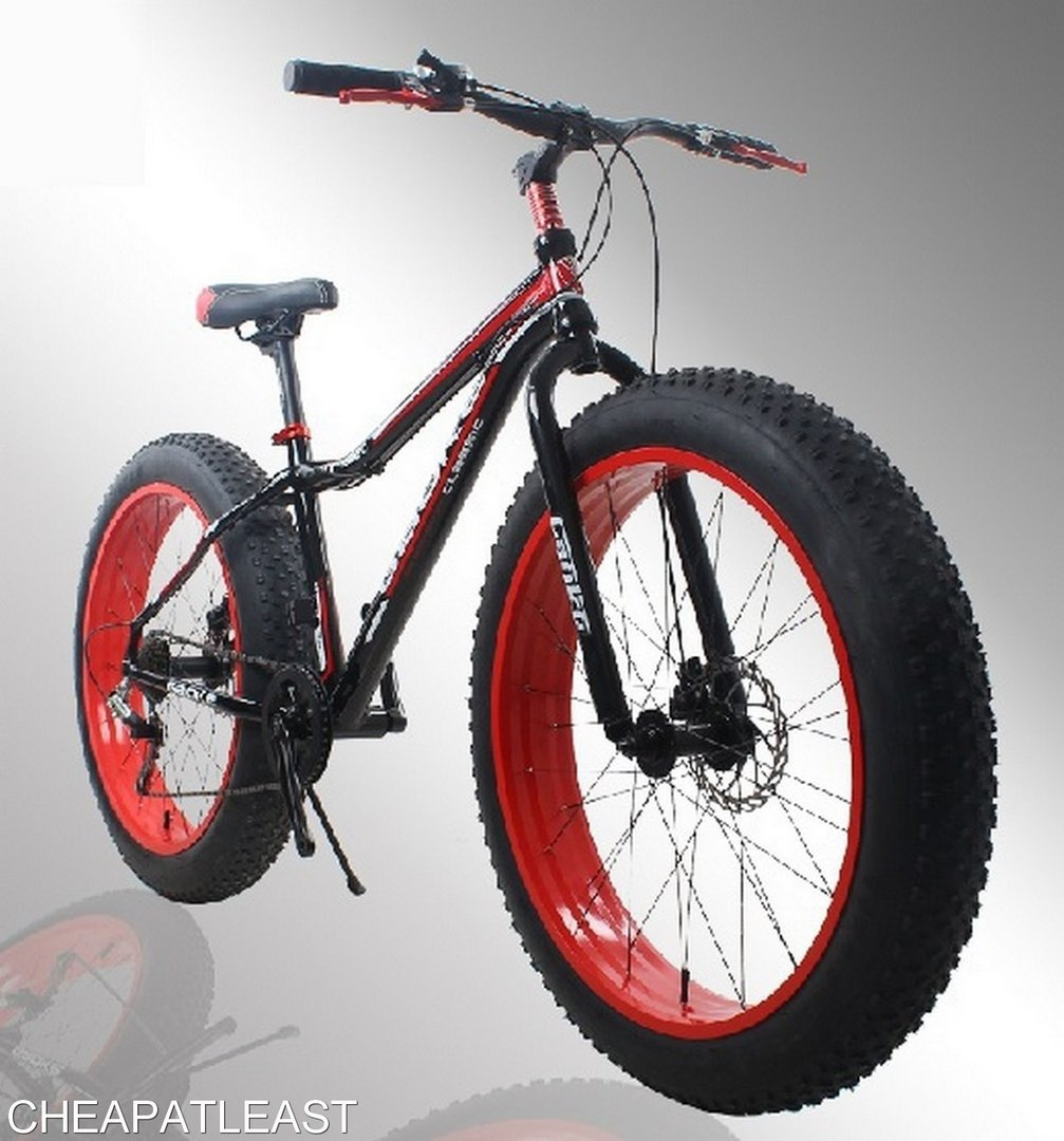 cheapest fat bike fatbike 26 7v 100 alu shipped from france. Black Bedroom Furniture Sets. Home Design Ideas