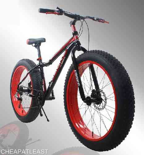 "FAT BIKE Fatbike 26"" 7V 100% ALU"