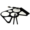 Foldable electronic drum roll-up - usb