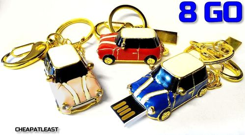 Clé USB Voiture 8 GO / 8GB - Austin Mini One Cooper