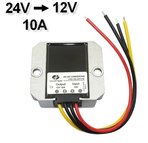 Transformer Adapter Converter 24V to 12V / 10A