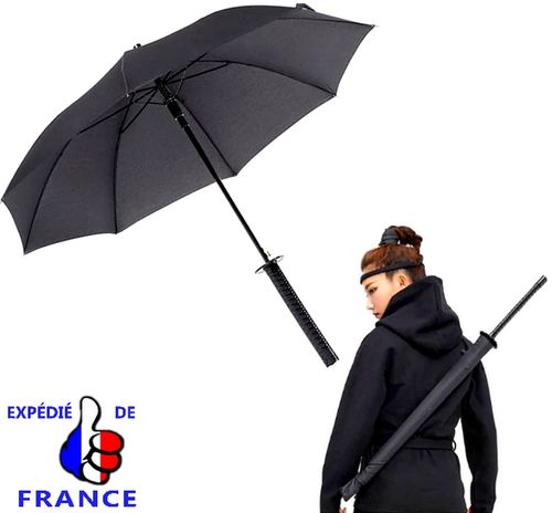 Umbrella with handle samurai sword Katana shaped