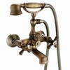 rustic wall faucet - shower and bath -