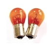 Ampoule Poirette - 12 V / 21 W - Orange - (Lot De 2)