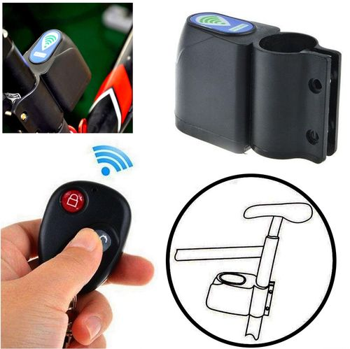 Bike Bicycle Anti-Theft Security Alarm with Remote