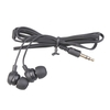 earphones in-ear stereo, black - 3.5mm