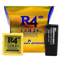 R4i GOLD PRO Revolution SDHC MicroSD / TF for NDS / NDS Lite