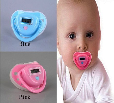 Waterproof Pacifier Digital Thermometer for Babies