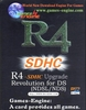 R4i Revolution  MicroSDHC linker Multimedia NDS & NDS Lite - Full-Size Pack