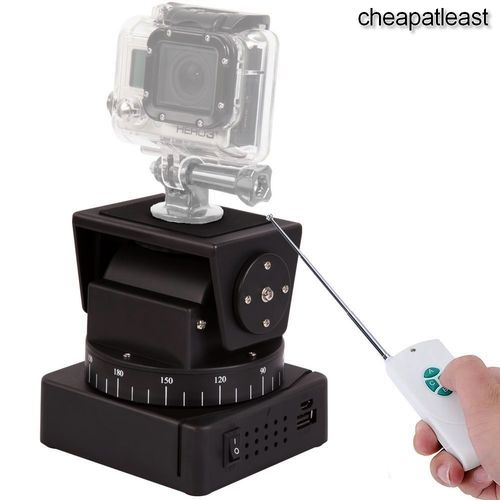 Base Mount PAN TILT motorized remote controlled photo video