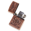 oil lighter shapped zippo - Ganja pattern