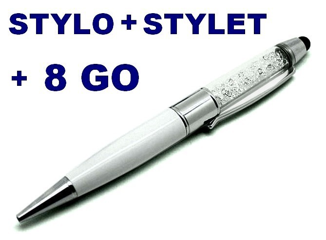 buy cheap 3 in 1 pen usb 8gb stick capacitive stylus stardust. Black Bedroom Furniture Sets. Home Design Ideas
