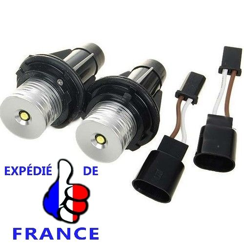 2 Ampoules À Led Luxeon - 8000K - Pour Angel Eyes Bmw