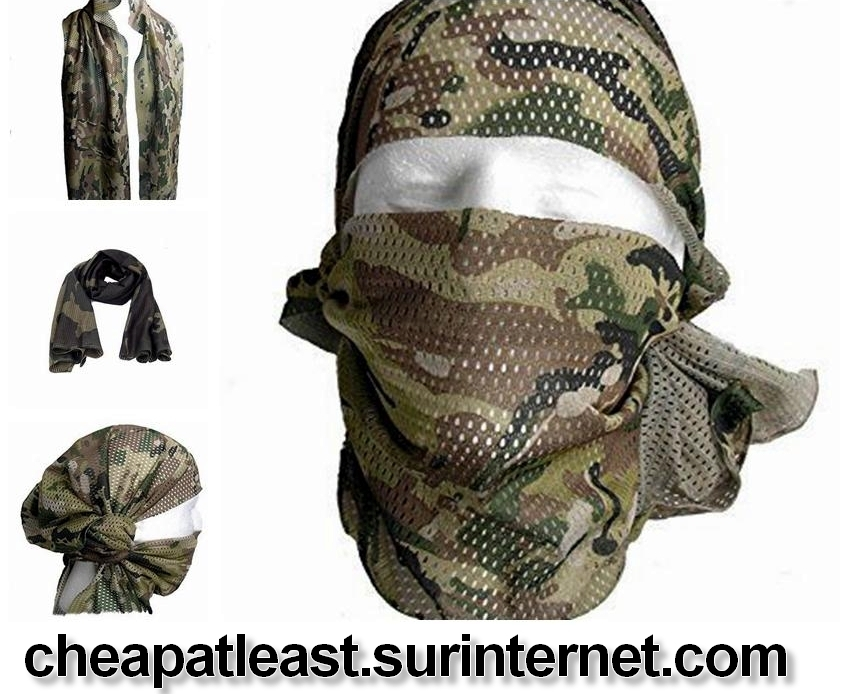 Buy cheap Army Camouflage netting Camo Scarf hunting airsoft