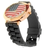 Unisex Watch USA / United States / Americcan Flag + silicone strap