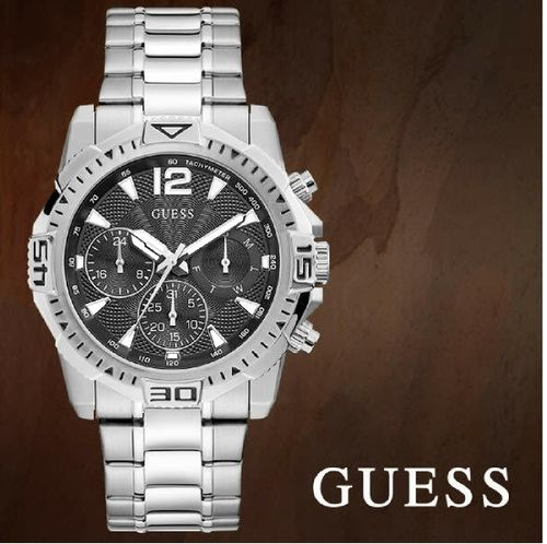 GUESS: Imposante Montre Chronographe Homme Commander GW0056G1