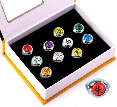 collector box 10 rings Naruto shippuden Akatsuki