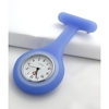 Nurse watch - Blue Silicone - With Pin